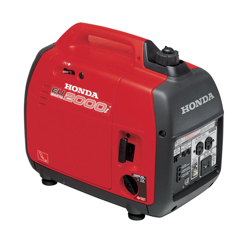 Honda eu2000i super quiet 2000 watt portable generator with inverter / eu2000i
