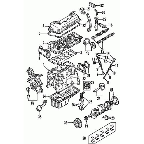 Nissan 13201-4m700 valve intake
