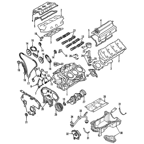 Nissan 13264-7Y010 valve cover_3