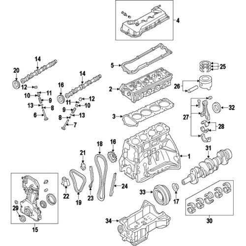 Nissan 13264-EA000 OEM VALVE COVER_2