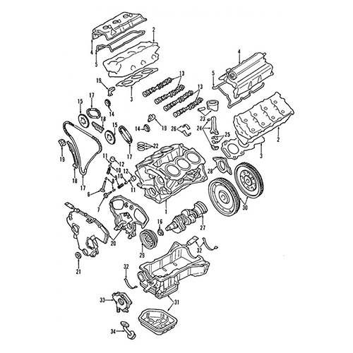 Nissan 13264-ZA30A  Valve Cover_3