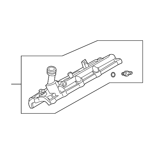 Nissan 13264-ZE00A VALVE COVER_3