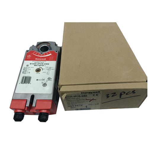Honeywell  s1024-2pos-sw2 damper actuator