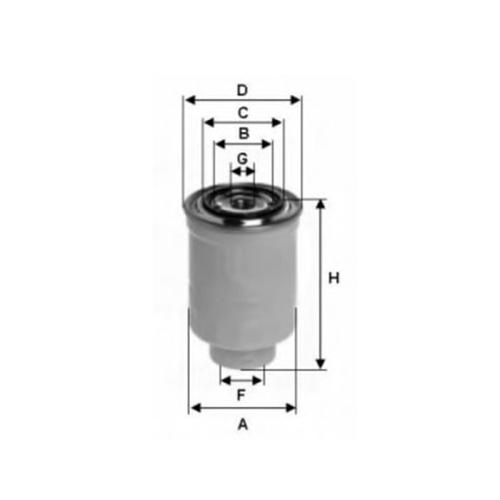 Nissan 16403-06j0a fuel filter