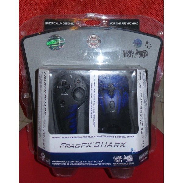 Split fish fragfx shark for ps3 / pc / mac