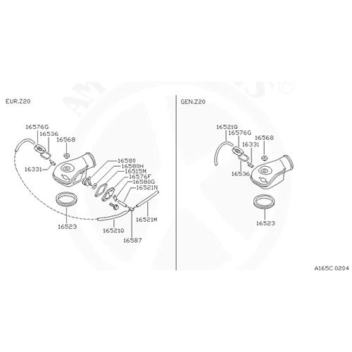 Nissan 16523-24G00 Air Cleaner_3