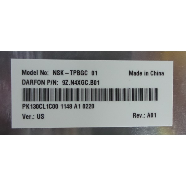 Toshiba NSK-TPBGC 9Z.N4XGC.B01 PK130CL1C00 Keyboard_3