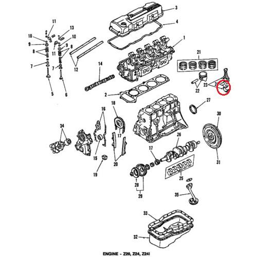 Nissan 12111-V0700 Rod Bearings_2