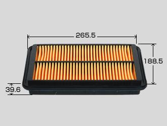 Nissan 16546-EB70A Air filter_3