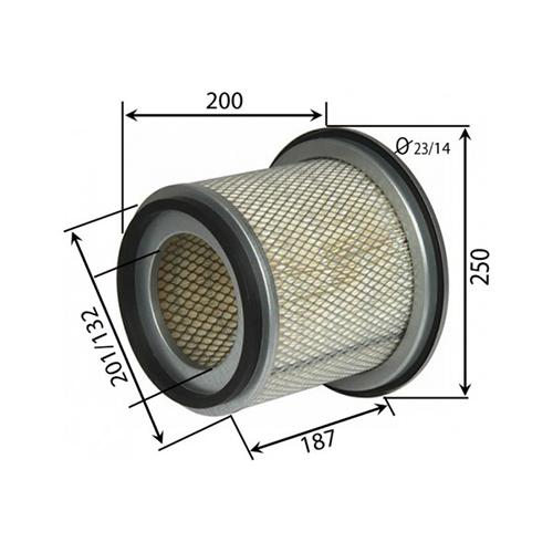Nissan 16546-VB700 Air filter_3