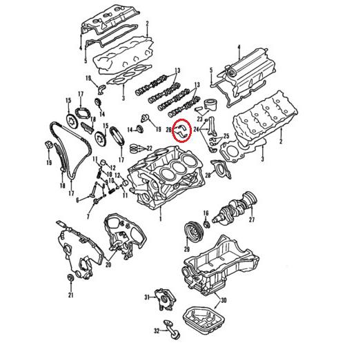 Nissan 12207-EA200 Bearings_2