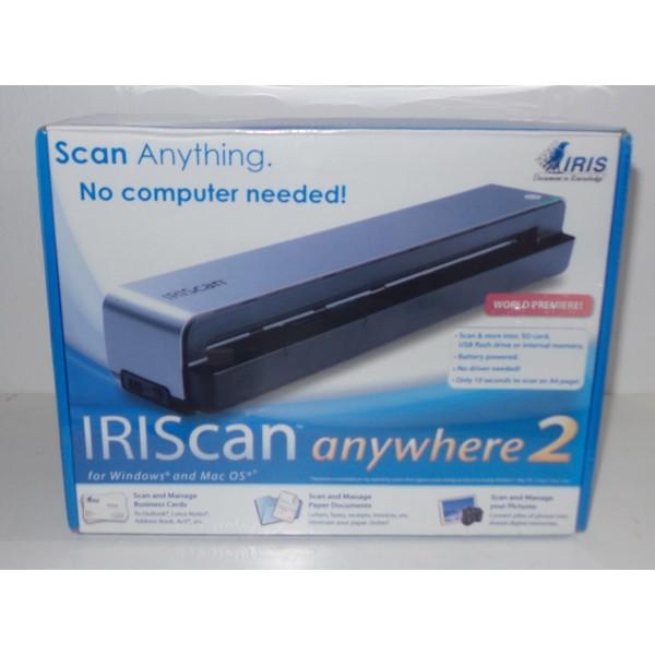 Iriscan anywhere 2 portable scanner