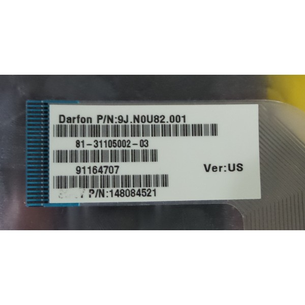 Sony Vaio VGN-FW VGNFW Series 9J.N0U82.001 148084521 Keyboard_3