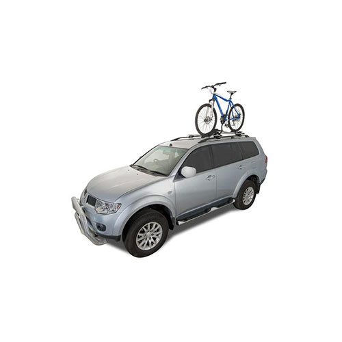 Roof bicycle carrier