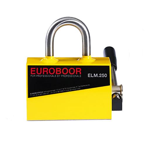 Elm.250 euroboor permanent lifting magnet - 250 kg