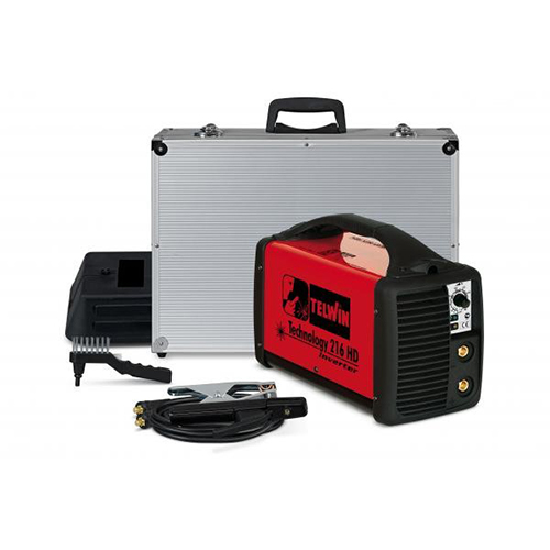 Mma Inverter Welding Technology 216 HD with AL with ACC, Made In Italy_2