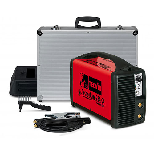 Mma inverter welding technology236 hd with al with acc, made in italy