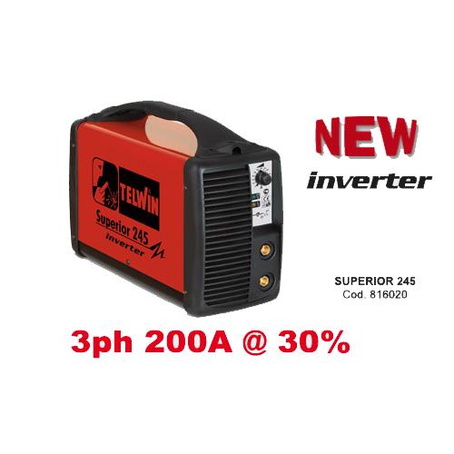 Mma Inverter Welding Superior 245 inverter, Made In Italy_2