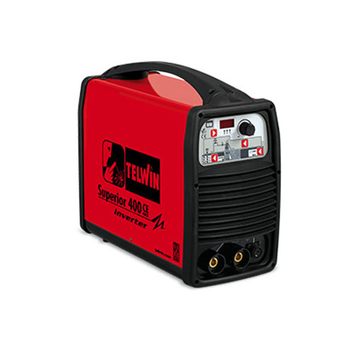 Mma inverter welding superior 400ce vrd, made in italy