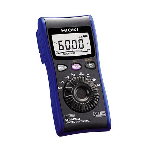 Digital multi meter dt4222 hioki