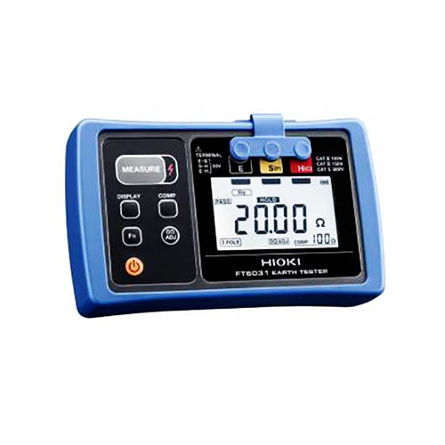 Digital Earth Resistance Tester FT 6031-03 Hioki_2