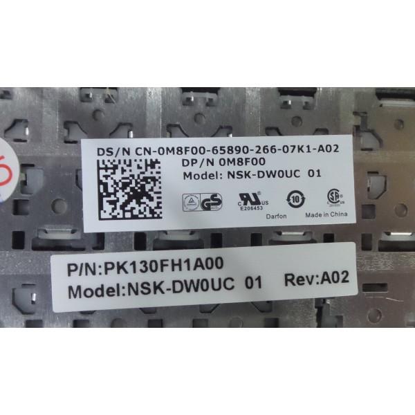 New Dell Latitude 9Z.N5NUC.001 NSK-DW0UC 01 PK130FH1A00 Keyboard_3