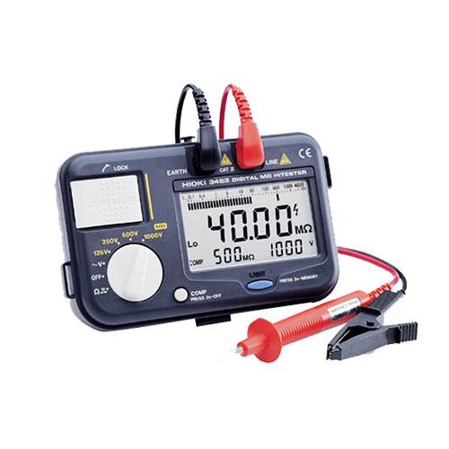 Digital Insulation Tester 3453 Hioki_2