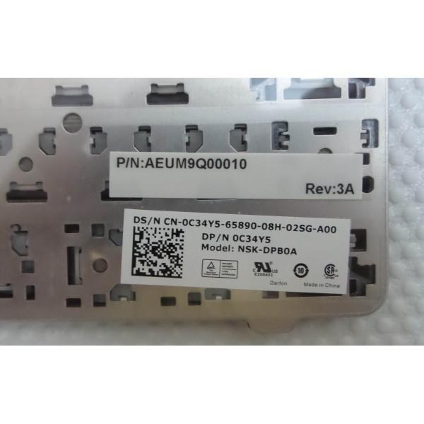 DELL Inspiron 17R N7010, NSK-DPB0A 0C34Y5 Keyboard_3