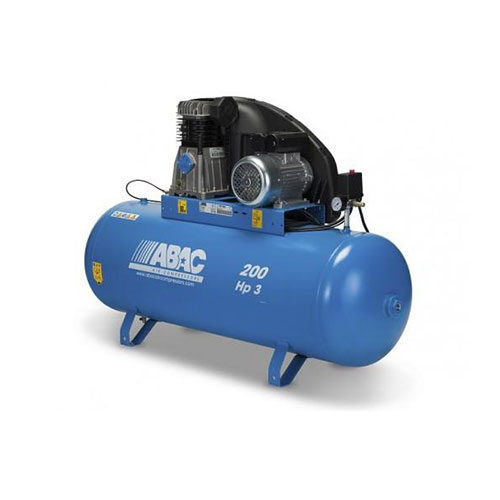 200 LTR AIR COMPRESSOR B3800B/200CT3 ,ABAC ITALY_2