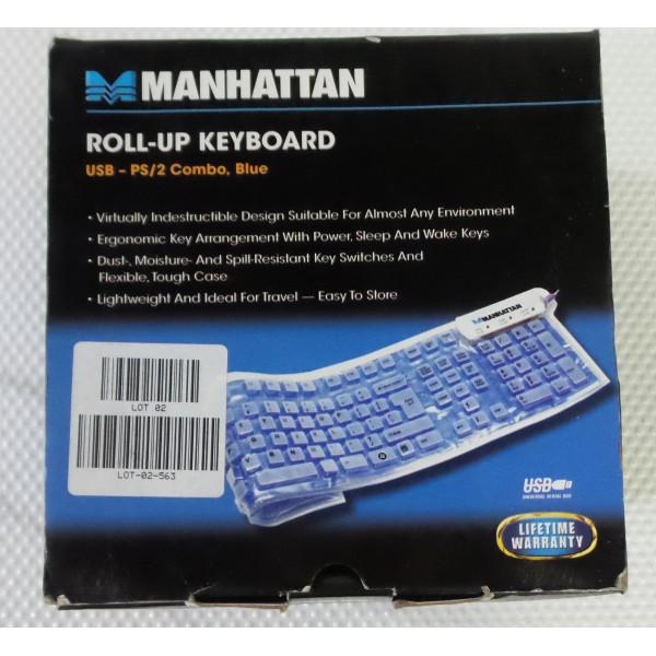 Manhattan roll-up keyboard