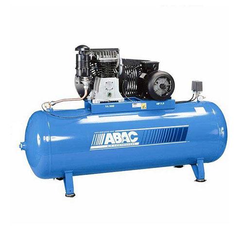 500 LTR AIR COMPRESSOR B6000/500C7.5 ,ABAC ITALY_2