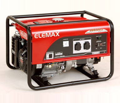 5.8 KV KEY START SH6500EX WITH BATTERY ELEMAX HONDA PETROL GENERATOR -MADE IN JAPAN_2