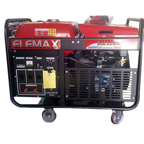 10KVA SINGLE PHASE SH11000 ELEMAX HONDA PETROL GENERATOR - MADE IN JAPAN_2