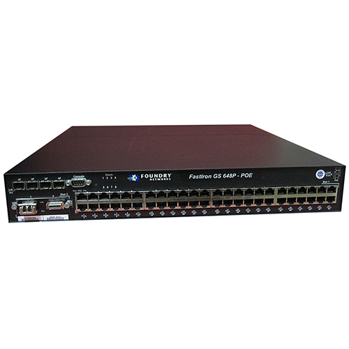 Brocade FastIron EDGE GS 648P - POE_2