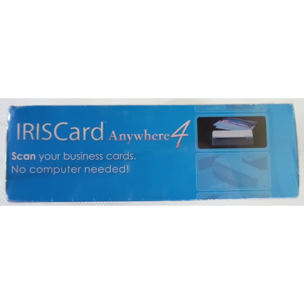 IRISCard Anywhere 4 Color Business Card Scanner Reader_4
