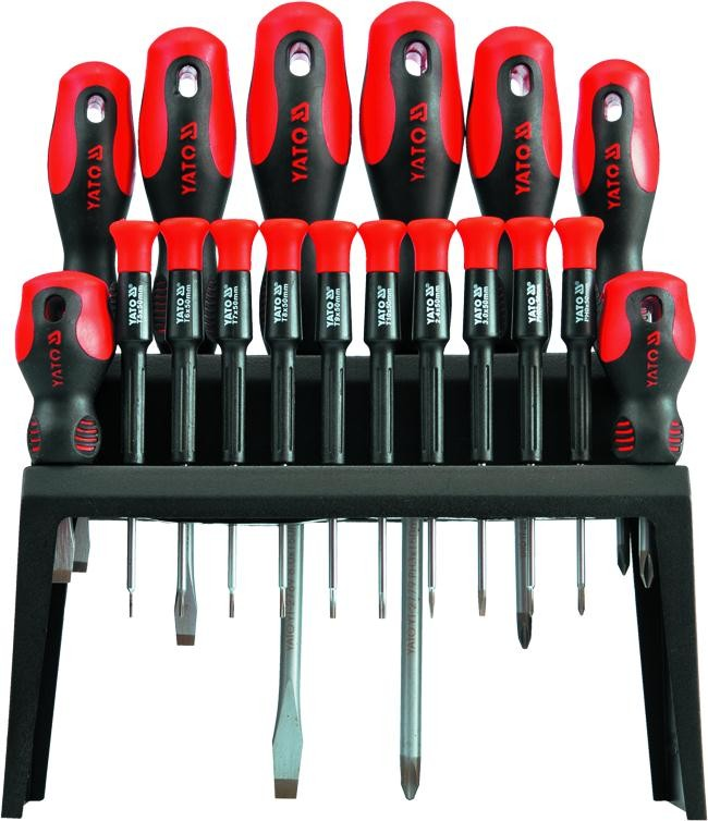 Yato screwdriver set 18pcs yt-2786