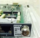 Avaya mm721 bri vh1 media module 700393762