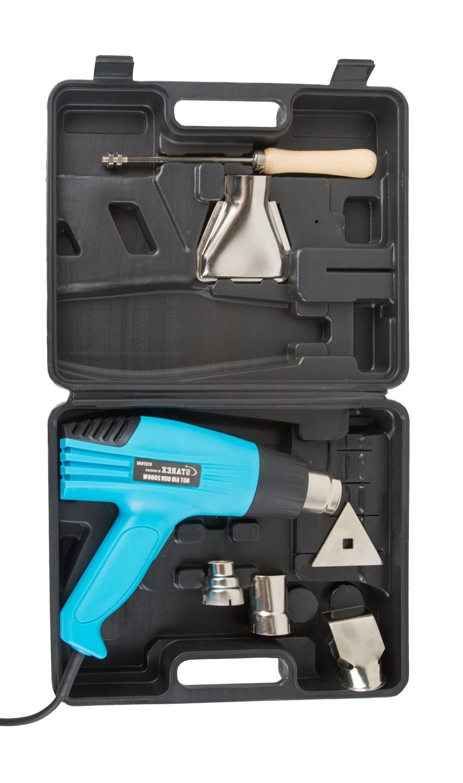 Starex hot air gun 2000w 400-6000c 6pcs accessories st27046