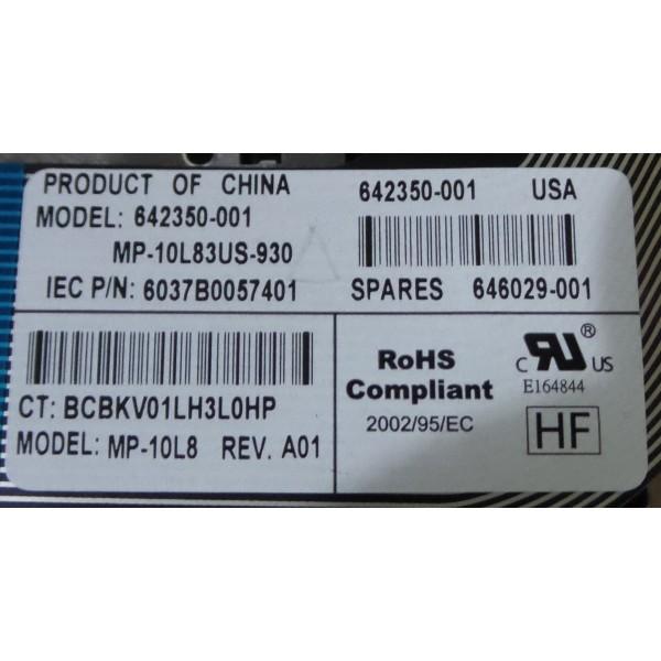 HP PN: 642350-001 Laptop Keyboard_3