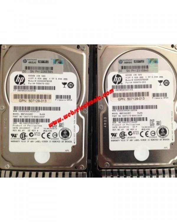 Hp 600GB 6G 10K SAS 2.5