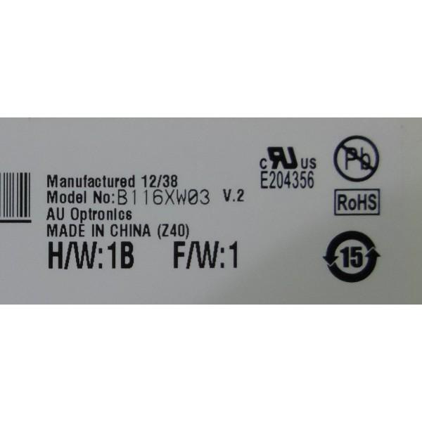 AU Optronics B116XW03 V.2 HD GLOSSY SLIM LED LCD SCREEN V2_3