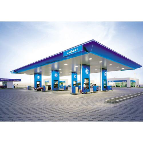 Cinmar lighting systems adnoc petrol stations abu dhabi