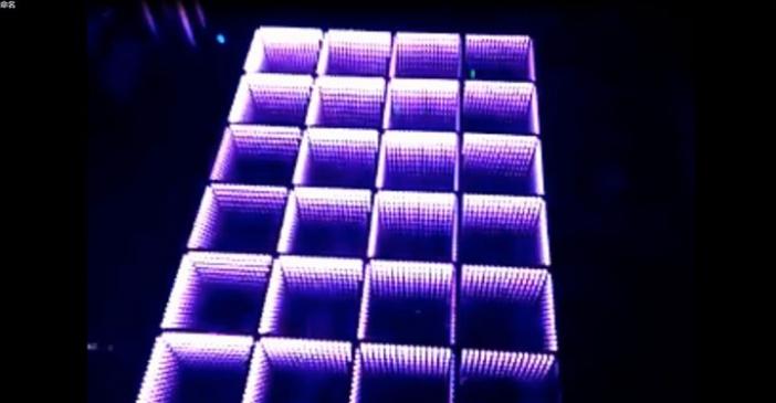 E-shine xy-3d-1 led infinite 3d dance floor