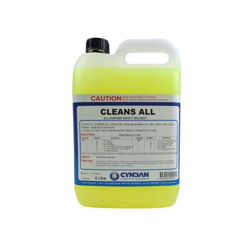Bionanosol cleans all
