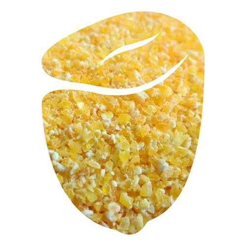 Grain span degermed yellow flaking grits