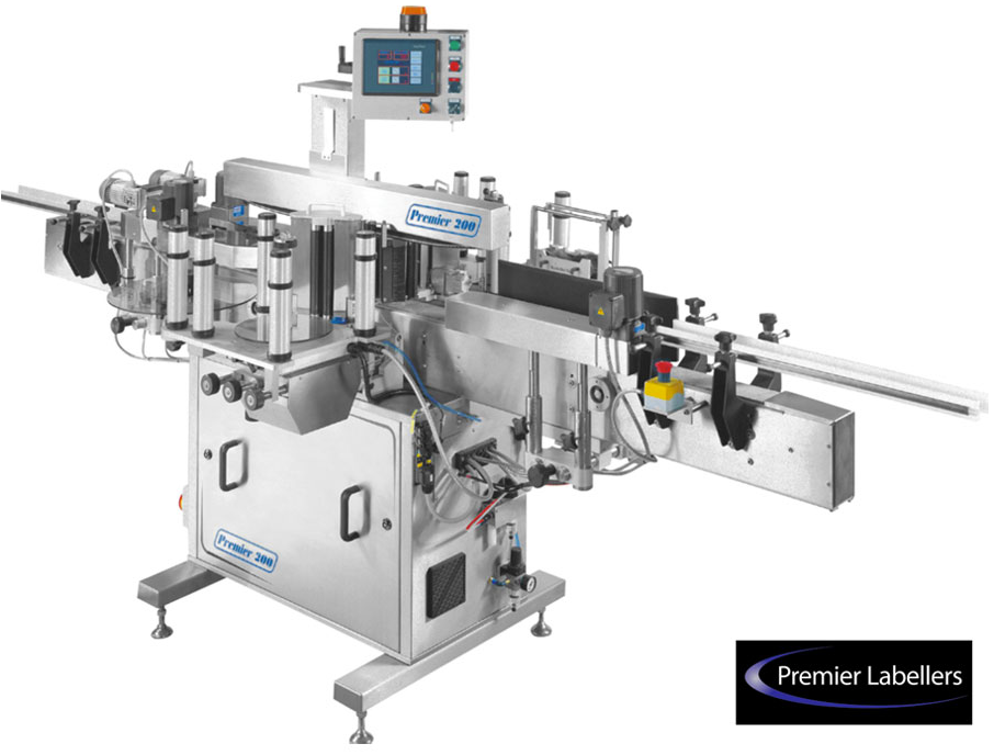 Automatic front & back labeling machine
