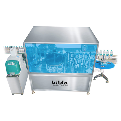 Automatic bopp hot melt labeling machine