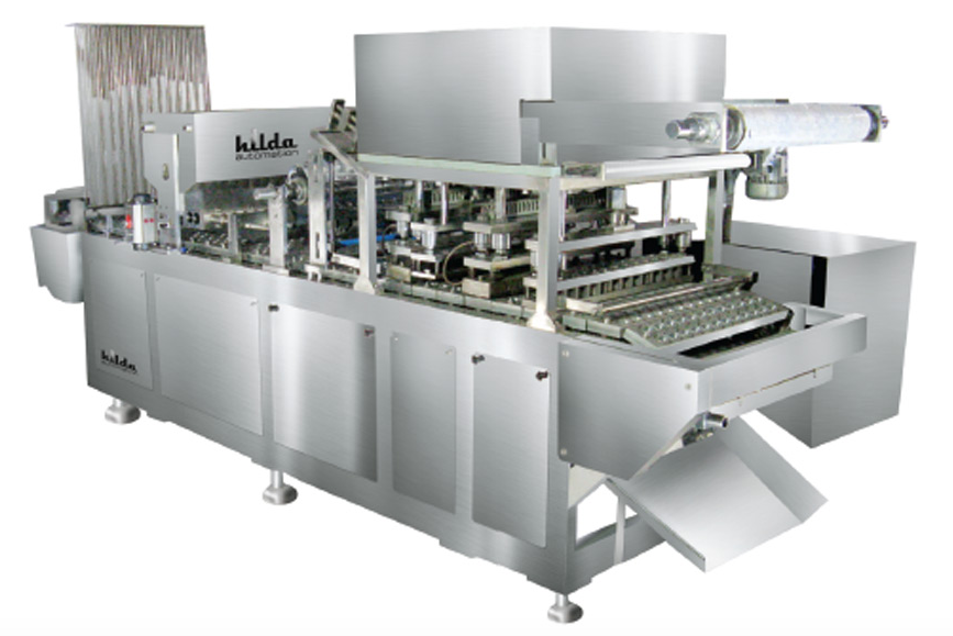 24 head cup filling, sealing and cutting machine for jelly