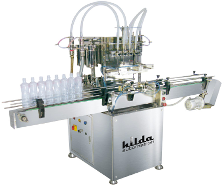 Filling machines with nrv system
