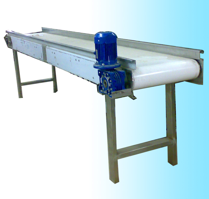 Inspection conveyor fruits pulp production